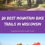Are you looking for the best mountain bike trails in Wisconsin? This is a selection of the best biking trails in Wisconsin. No matter whether you're looking for dirt bike trails in Wisconsin or biking trails in Southern Wisconsin or Northern Wisconsin: this is the ultimate mountain bike guide to Wisconsin. If you're looking for Wisconsin Bike Trails, here you'll find trails for every level. Indeed Wisconsin mountain biking is a great idea! #wisconsin #wisconsinmountainbiking #bikingwisconsin