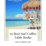 Are you looking for the best surf coffee table books? This is a handpicked selection of surfing coffee table books including coffee table books about surf shacks, waves, and ocean vibes. If you are looking for great surfers' interior design, you'll love this curated list. It's also a must for any surf coffee interior and gives inspiration for surfers tables and design. It's also great for surf coffee bars to style their interior. Let's design your surf interior! #surfcoffeetablebooks #surfdesign
