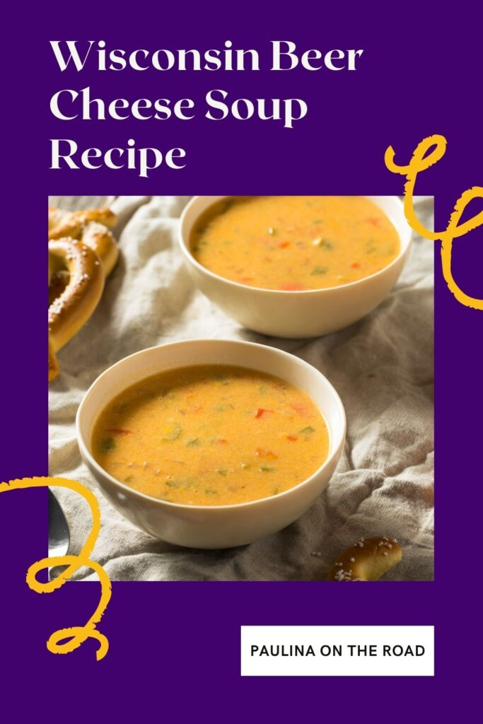 Looking for an easy Wisconsin Beer Cheese Soup Recipe? This is one of the tastiest Wisconsin beer cheese soup recipes you can find. On top, it is easy, quick, and healthy. Wisconsin cheese soup is popular across the state but one of the most popular ways to serve this Wisconsin soup is with beer. No worries, the alcohol will evaporate. Beer cheese soups are especially popular during winters. In summer, convert this Wisconsin food recipe into a Wisconsin beer cheese dip. #wisconsinsoup #beercheesesoup