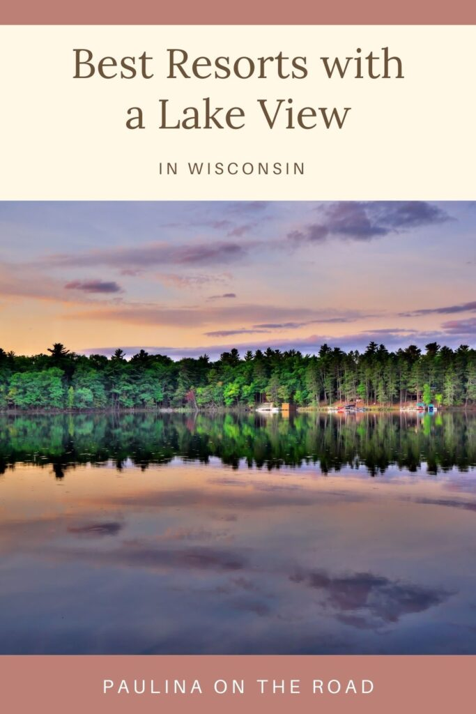 Looking for the best lake resorts in Wisconsin for your next vacation? Here are some of the best best places to stay in Lake Geneva, Wisconsin Dells, Door County and more! Includes options for families, romantic getaways and even business trips. #Wisconsin #USATravel #WisconsinResorts #LakeResorts #LakeGeneva #WisconsinDells #DoorCounty #LakeVacation #ElkhartLake #MinocquaResorts