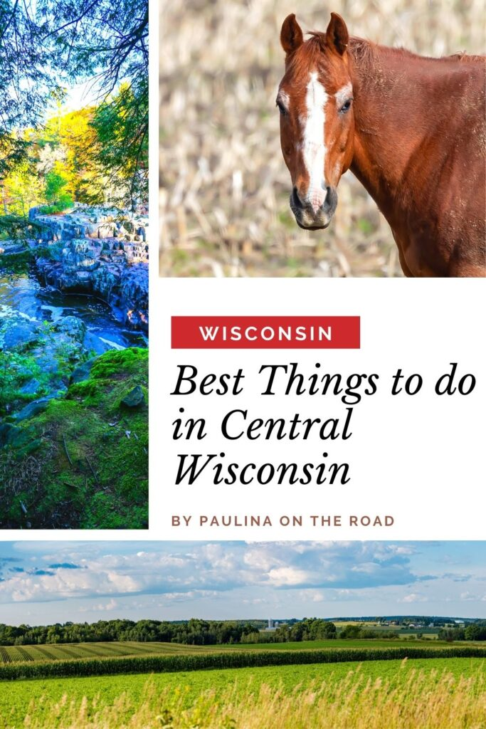 Central Wisconsin is an amazing destination that offers every visitor a unique and exciting experience. This region is a bit off the tourist radar, but that doesn't mean there aren't tons of amazing things to do in Central Wisconsin. From hiking and beautiful lakes to escape rooms and Mexican food, there is truly something for everyone. #Wisconsin #CentralWisconsin #USATravel #Hiking #WisconsinDells #Marshfield #RibMountain #Camping #Ziplining #Cycling