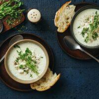 tasty cauliflower soup from wisconsin