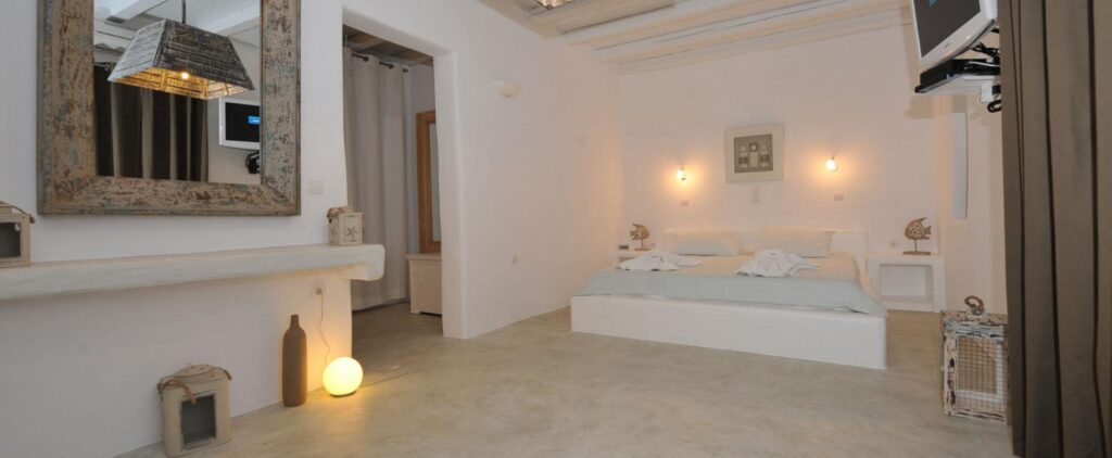best places to stay in paros, large room in Anemoi Resort Paros