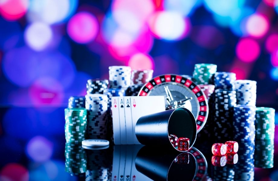 casino chips and poker cards; enjoy a casino spy room at one of the best escape rooms in Milwaukee