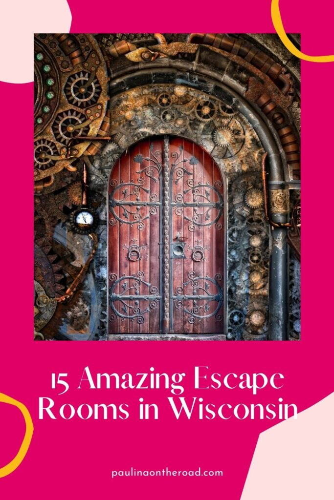Escape rooms are quickly growing in popularity as they're perfect for visiting with family and friends. And the Wisconsin escape rooms are some of the best in the USA, if not the world! This guide has all the best escape rooms in Wisconsin, including Milwaukee, Madison, and Wisconsin Dells. Some are family-friendly, others are terrifying! #Wisconsin #EscapeRooms #WisconsinEscapeRooms #Milwaukee #Madison #WisconsinDells #USATravel #CityBreak #FamilyFun #VisitWisconsin