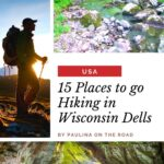 Looking for the best hiking trails in Wisconsin Dells? This guide to hiking in Wisconsin Dells includes all the best trails in the area, including Witches Gulch, Ice Age Trails, and Devil's Lake. #WisconsinDells #Wisconsin #WisconsinTrails