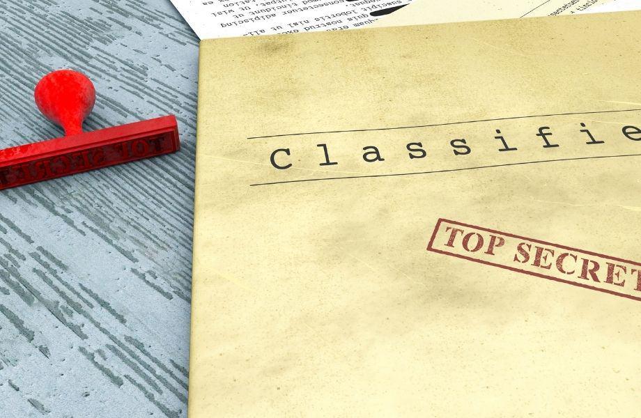 Top Secret classified documents; go undercover at the Lake Geneva escape room