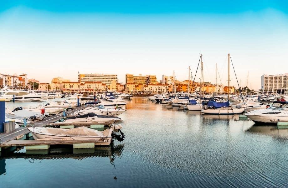 what to do in algarve portugal, marina of Vilamoura, portugal