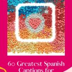 Are you looking for the best Spanish captions for Instagram? This is a complete list with Instagram captions in Spanish for every situation. No matter whether you are looking for Spanish Birthday Captions for Instagram or Spanish Captions for Instagram from Songs, this Instagram caption list comes with captions translated into English too. It's also a source of Positive Instagram Captions in Spanish and Baddie Captions in Spanish. What is your favorite? #instagramcaptions #spanishcaptions