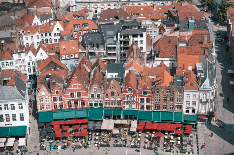 things to do in bruges - belfry