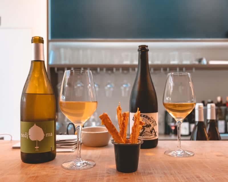 wine bar in bruges
