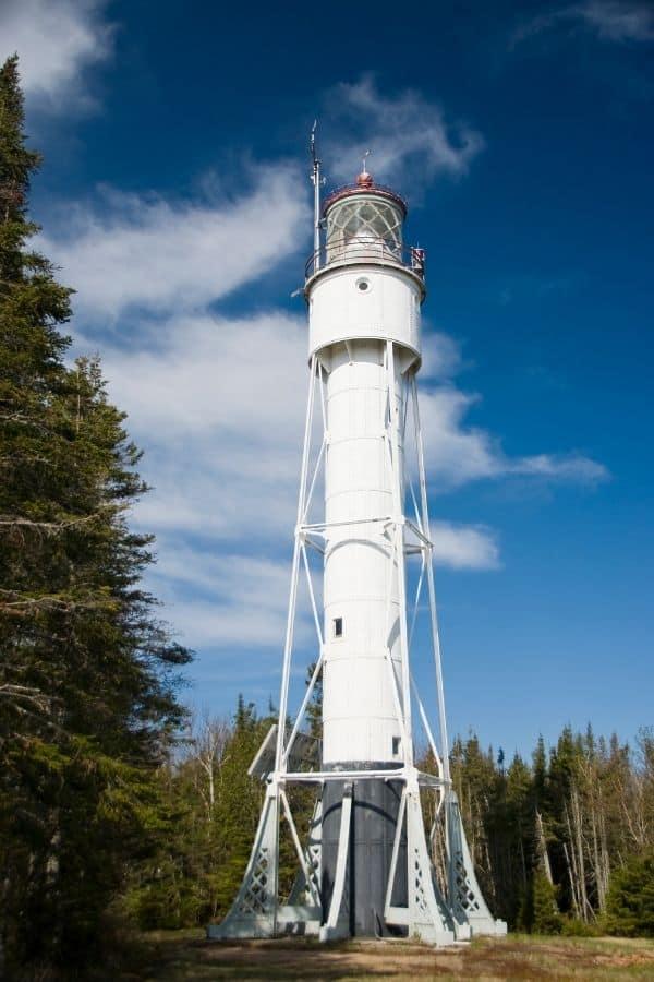 amazing lighthouses of Wisconsin, Devil's Island Lighthouse