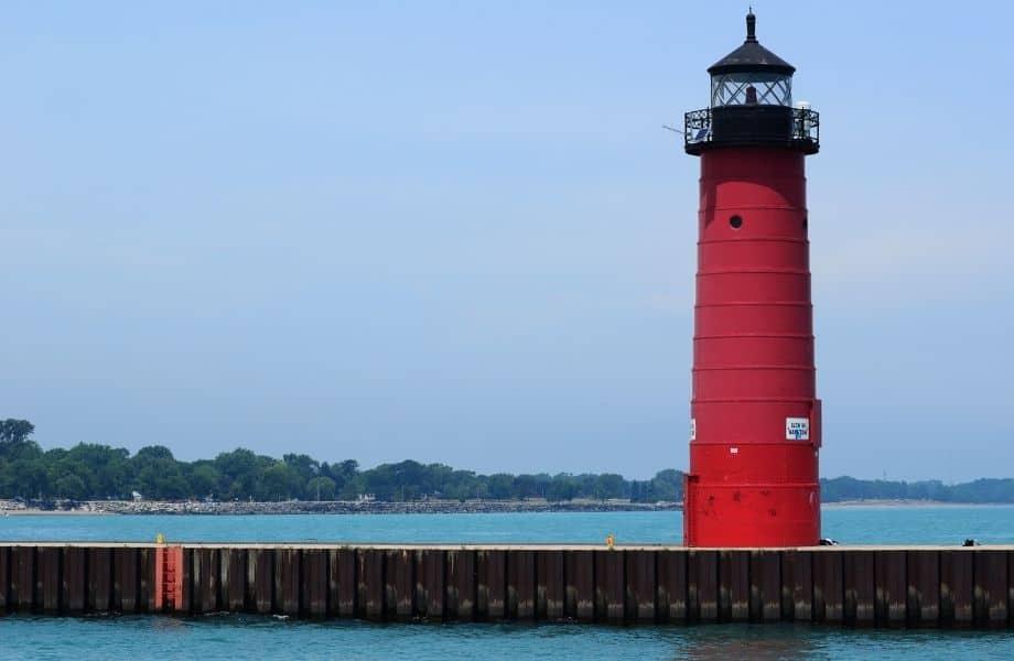 lighthouses on Lake Michigan, Kenosha Lighthouse