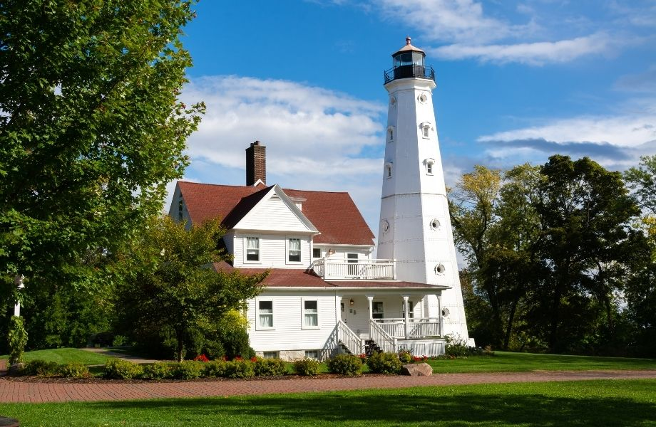 Best Lake Michigan Lighthouses, North Point Lighthouse
