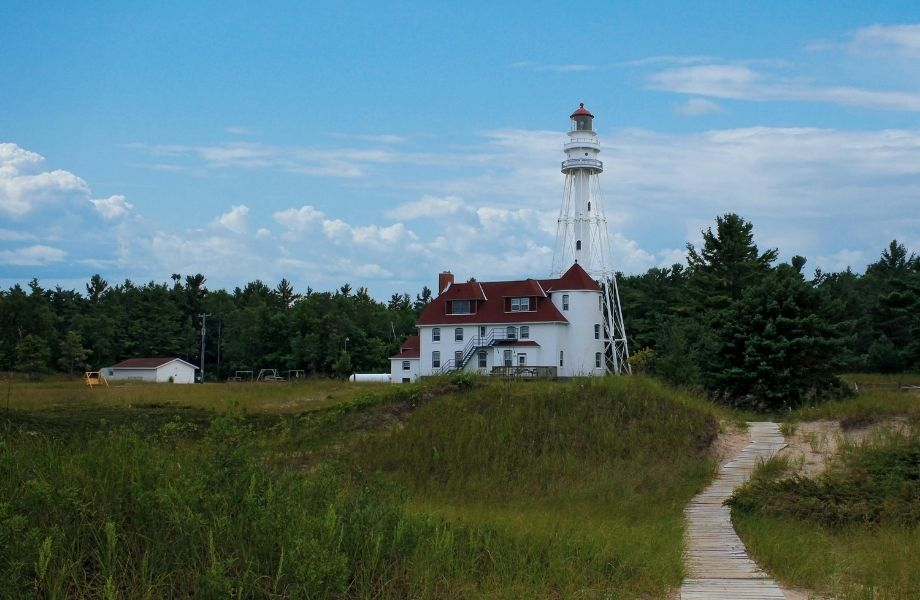 Where to visit for a Wisconsin lighthouse tour, Rawley Point Lighthouse
