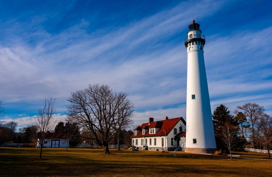 Beautiful Wisconsin Lighthouses, Wind Point Lighthouse