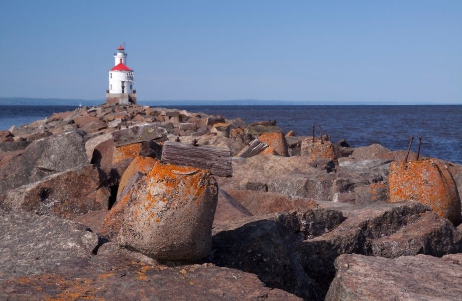 Best Lake Superior Lighthouses, Wisconsin Point Lighthouse