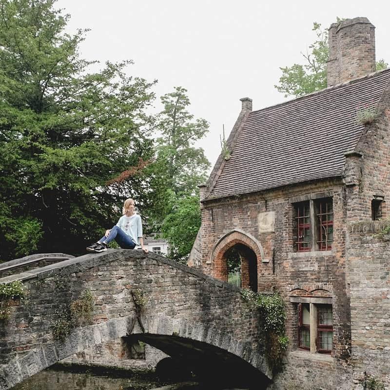 attractions of bruges, belgium