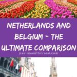 Are you wondering whether to go to the Netherlands or Belgium? This is the ultimate comparison of Belgium and the Netherlands incl. cost, people, history, and sights. Find insights from a local about the best things to do in the Netherlands and what to do in Belgium. It's a selection of differences between the 2 very similar countries. However they have some considerable differences, hence, it's important to know! #belgium #netherlands #benelux #europetravel #europe #belgiumtravel #holland