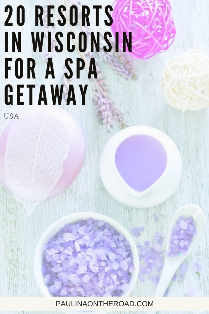 Are you looking for spa resorts in Wisconsin to enjoy a relaxing weekend away? Wisconsin is the perfect place for a spa weekend away to pamper yourself and unwind. This guide to the top Wisconsin resorts and spas has the best spa breaks for couples, luxury spa resorts, spa resorts with waterparks, and where to stay to have a personal hot tub in your room! #Wisconsin #SpaResorts #SpaGetaway #WisconsinSpas #WisconsinDellsSpa #LakeGenevaSpa #KohlerWatersSpa #Relax #SpaVacay #SpaBreak