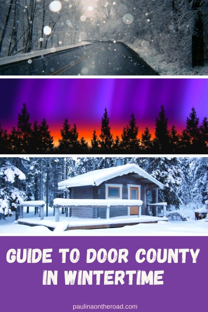 Planning a winter getaway to Wisconsin? Winter in Door County is magical! From fun winter sports and outdoor activities to winter festivals with ice sculpting competitions, there are so many amazing things to do in Door County in winter! This guide covers all the best winter activities in Door County to make the most of the season. #Wisconsin #Winter #DoorCounty #WisconsinWinter #DoorCountyGetaways #DoorCountyWinter #WinterActivities #WinterSports #WinterFestivals #WinterGetaways